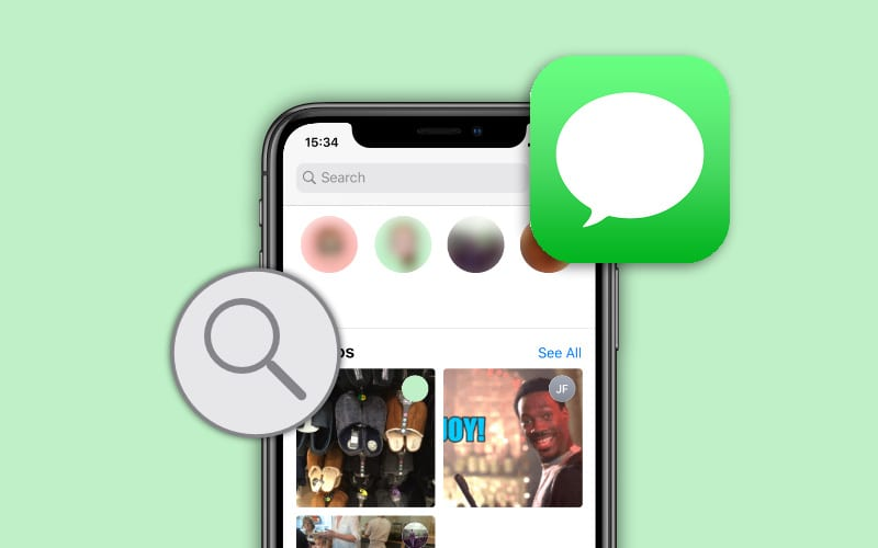 Search problems in the Messages app? Rebuild the search index for iOS