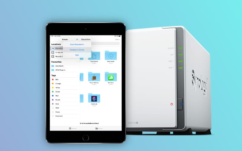 Use SMB to connect to your NAS drive in Files with iPadOS or iOS 13 (New)