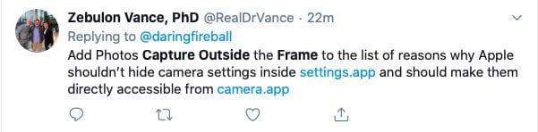 iOS 13.2 Camera feature