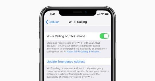 iPhone Dropped Calls - Wi-FI