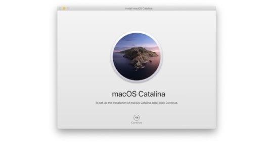 macOS Catalina 3