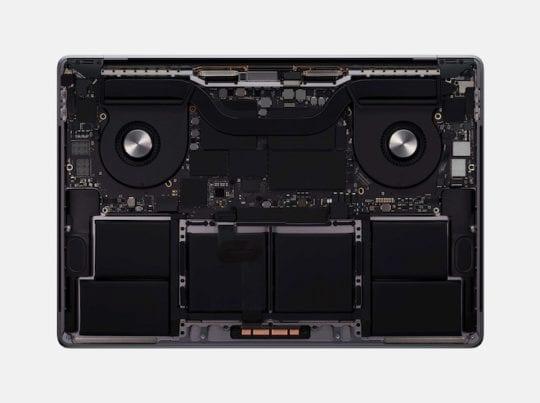 16-inch MacBook Pro - Internals