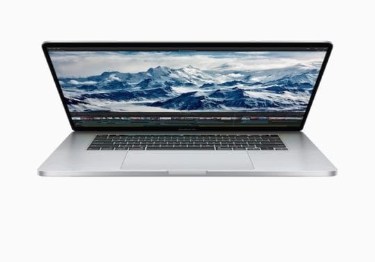 16-inch MacBook Pro - Profile
