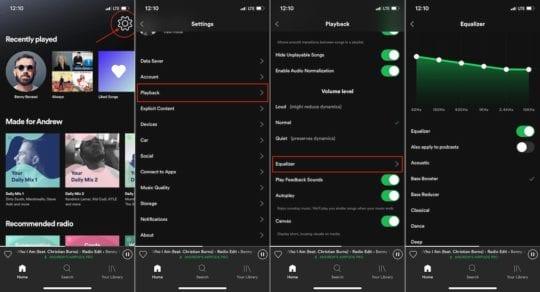 AirPod Sound on Spotify 1