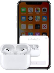 red exclamation point on AirPods Pro