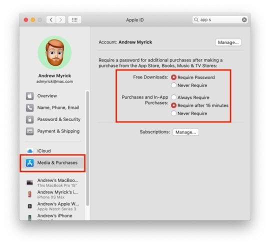 Disable Password Prompts Mac 1