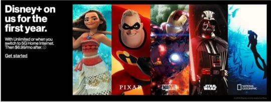 Disney Plus Verizon