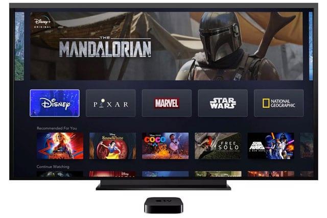 disney app for Disney+ on Apple TV