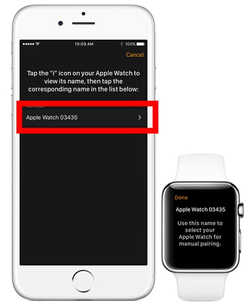 How to set up 6 digit passcode on Apple Watch 1