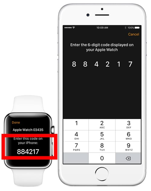 How to set up 6 digit passcode on Apple Watch 2