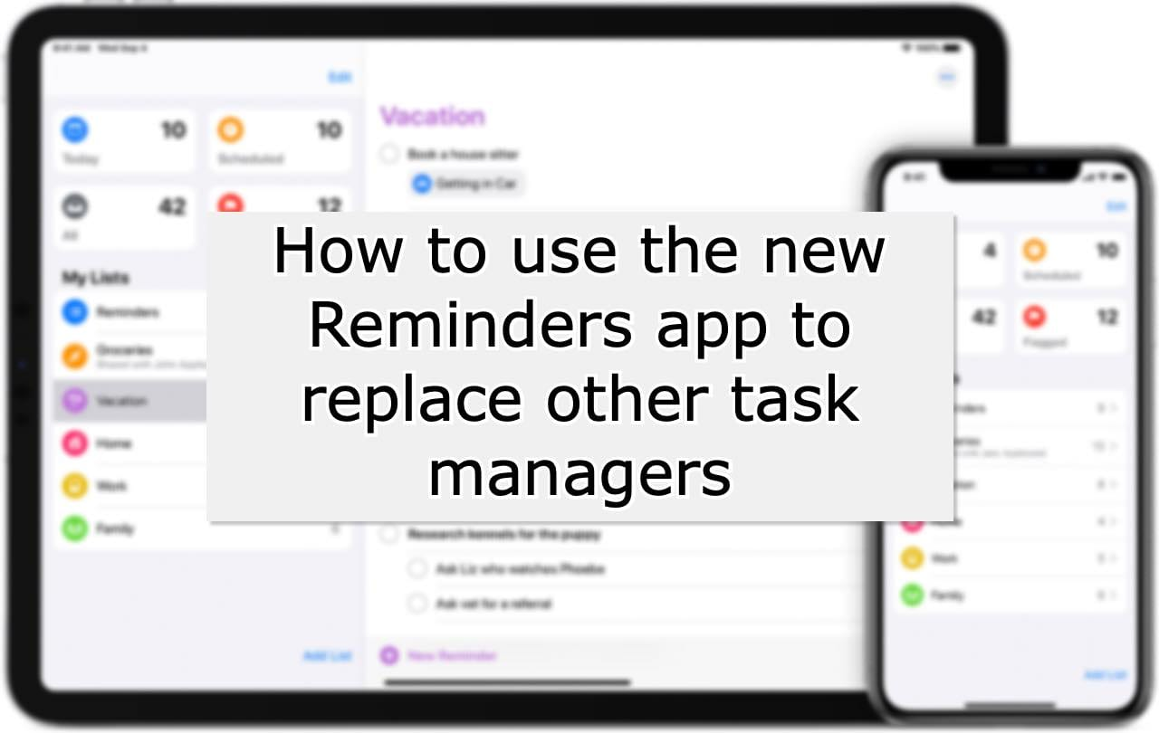 Reminders Tips and tricks iOS 13 Hero