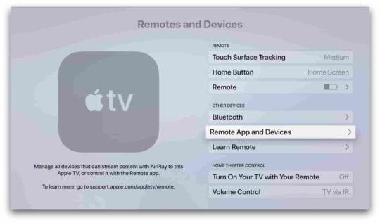 Remove Apple TV Speakerphone 5
