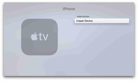 Remove Apple TV Speakerphone 6