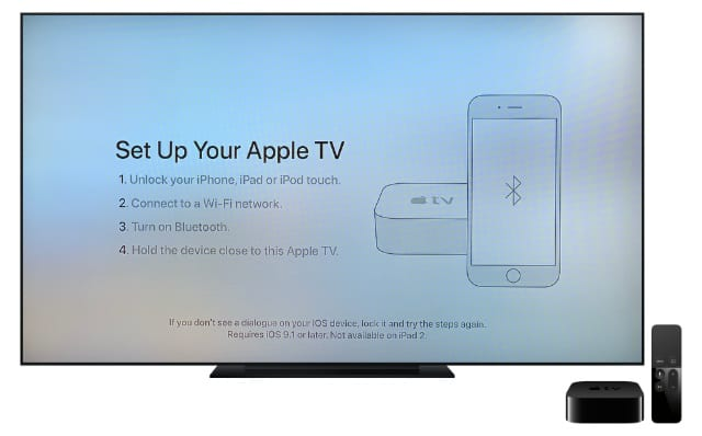 Set Up Your Apple TV with an iPhone
