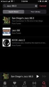 iOS 13 Live Radio - Search