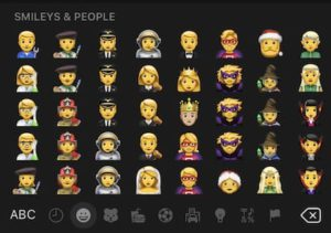 iOS 13 Problems - Emoji