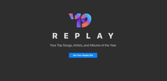 Apple Music Replay 2019