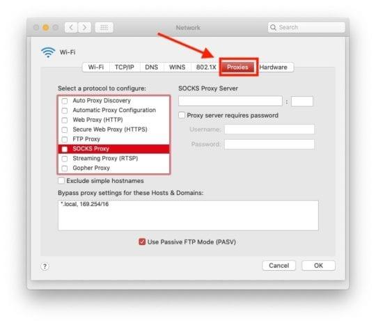 Slow Wi-Fi SOCKS Proxy 1