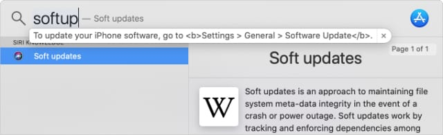 Using Spotlight to expand text from replacement shortcut