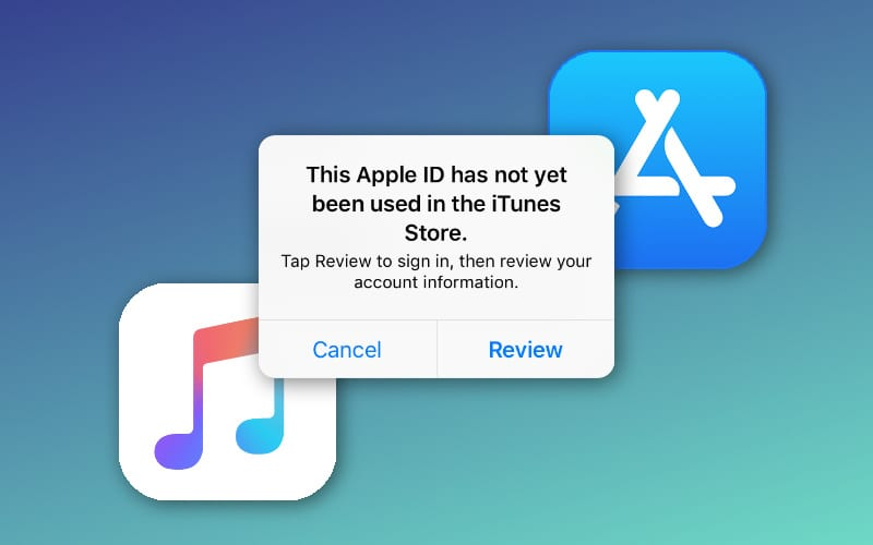 5 Fixes for Apple IDs That Haven't Been Used With iTunes or the App Store