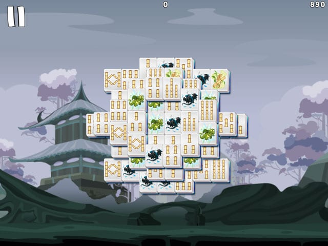 Mahjong Deluxe 3 Go start with widest lines