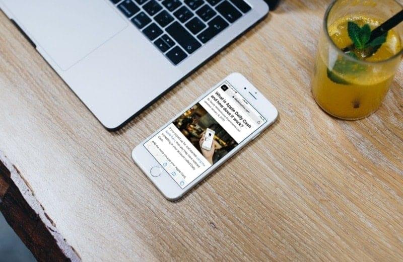 Safari Reader View On iPhone