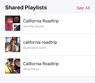 Find Public playlists in Apple Music