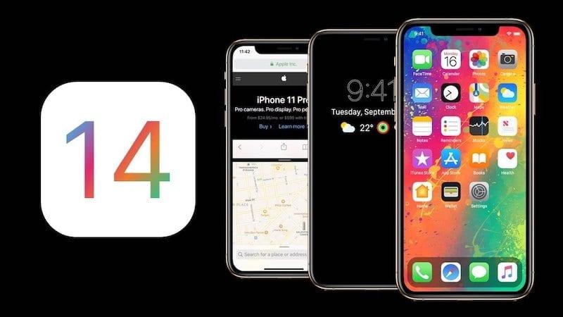iOS 14 Header