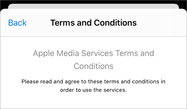 iPhone App Store Terms and Conditions