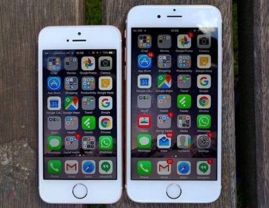iPhone SE iPhone 6