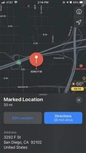 Apple Maps Pins