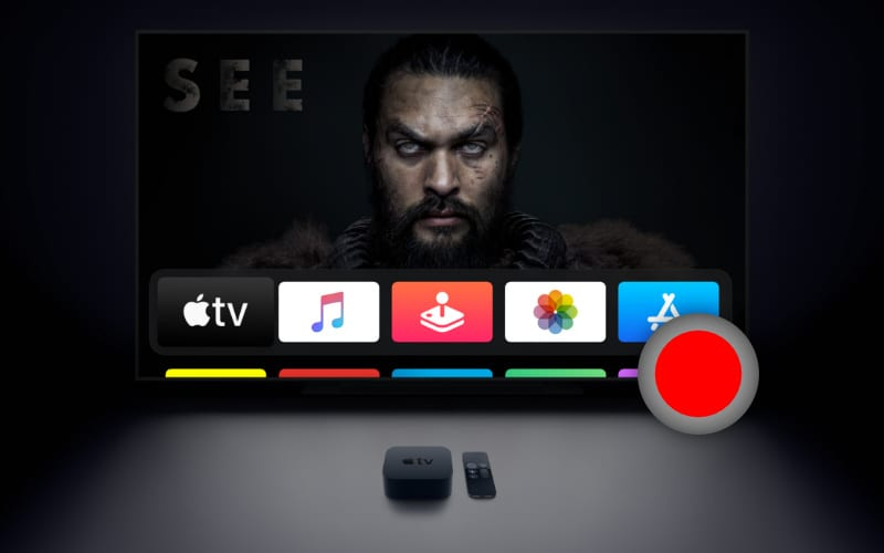 Can you record shows on Apple TV?