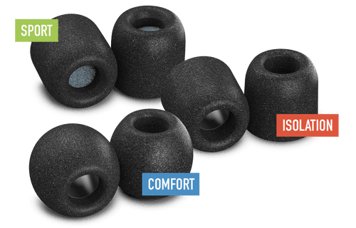Comply Memory Foam Ear Tips