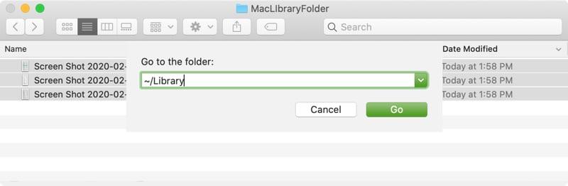 Go To Folder Library Mac