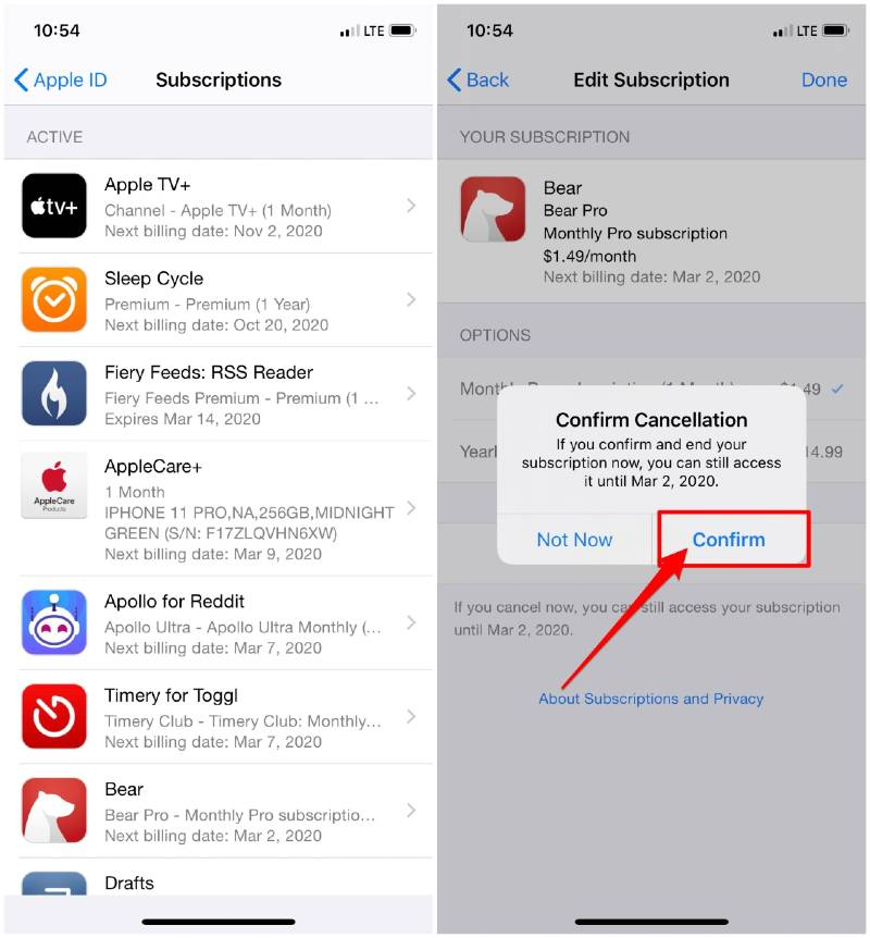 How to Unsubscribe from an app on your iPhone or iPad - AppleToolBox