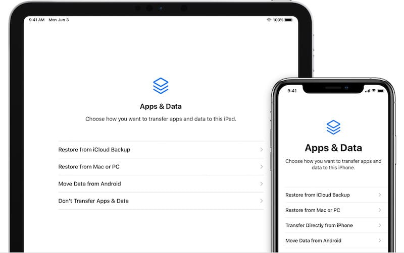iCloud Backups Feature