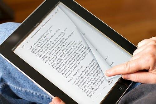 iPad reading