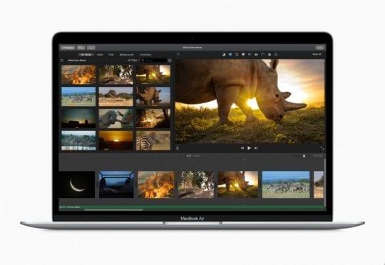 2020 MacBook Air Video Editing