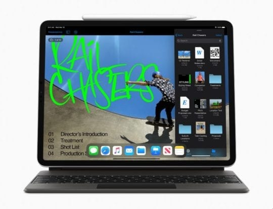 2020 iPad Pro Multi-tasking