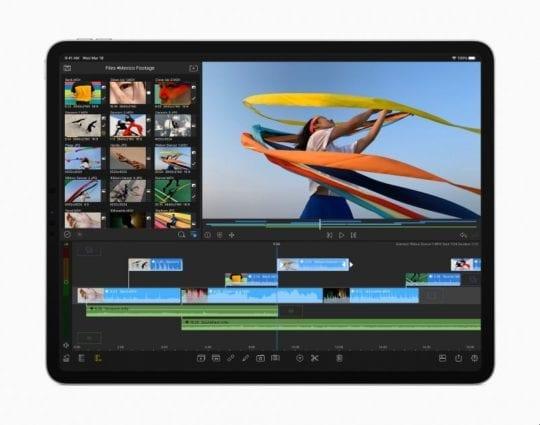 2020 iPad Pro Video Editing App