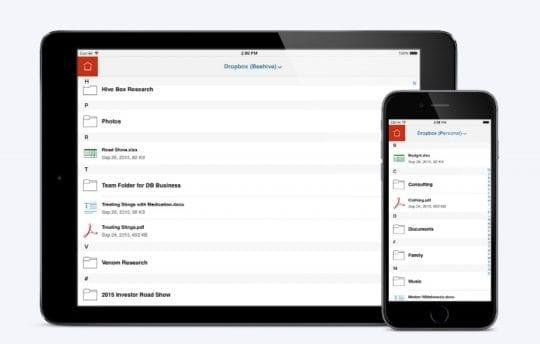 Adobe Acrobat Reader on iOS