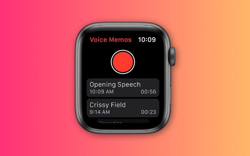 Apple Watch Voice memos not syncing