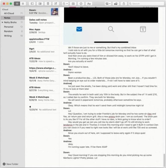 Copy Messages to Notes-min