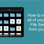 How to manage all of your Cloud File Services from your iPad