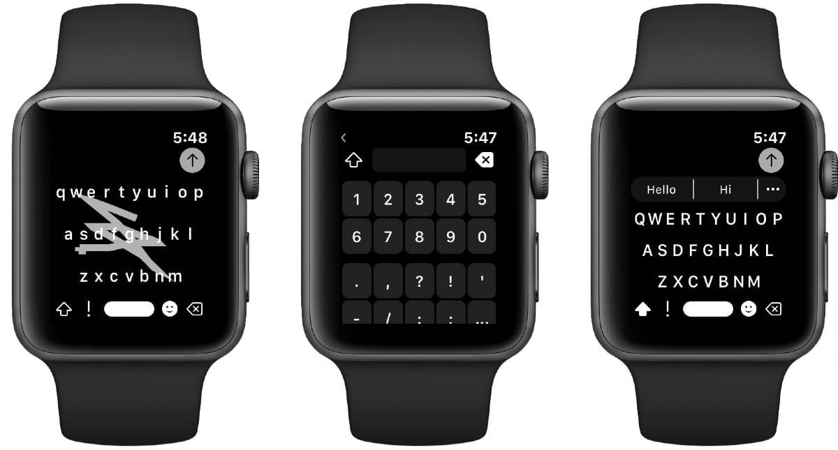 Shift Keyboard for Apple Watch