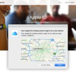 Why does Apple ID two-factor authentication show the wrong location?