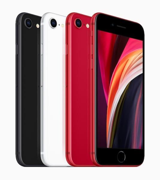 2020 iPhone SE Colors