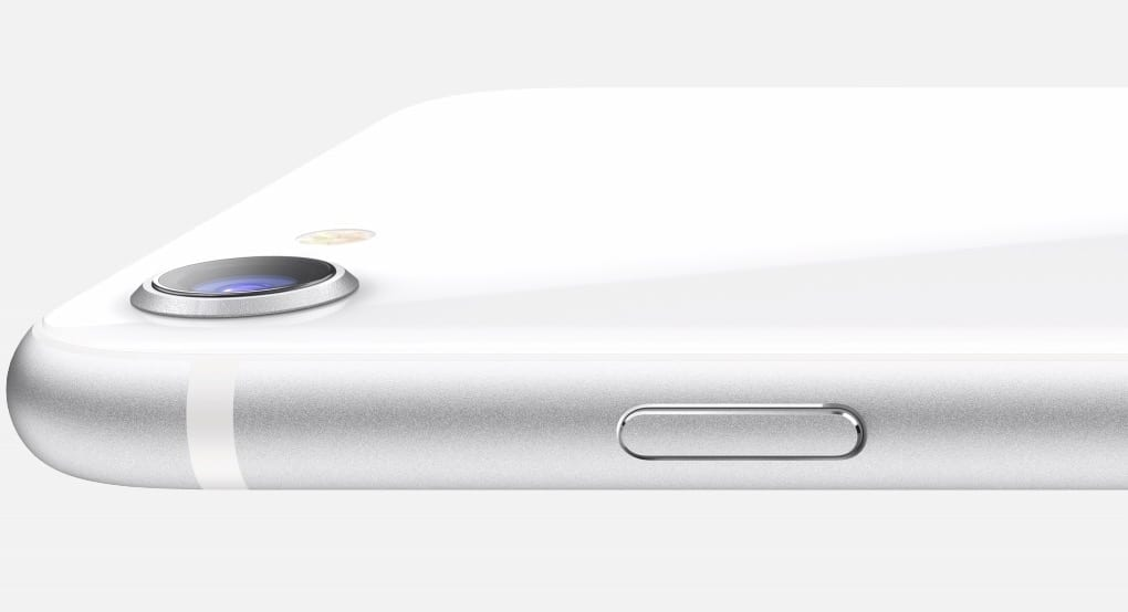 2020 iPhone SE in Silver