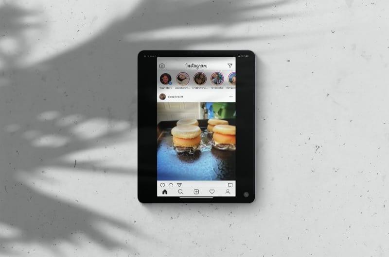 Instagram App on iPad