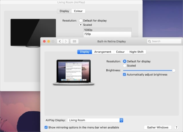 Mac Display System Preferences2